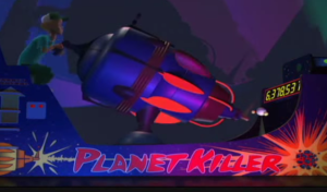 That gun is literally ginormous. Also, Planet Killer?