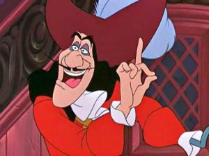 Captain Hook. Best. Mustache. Ever.