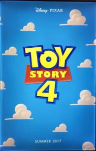 This poster obviously tells me everything I need to know. In that it is part 4 of Toy Story.