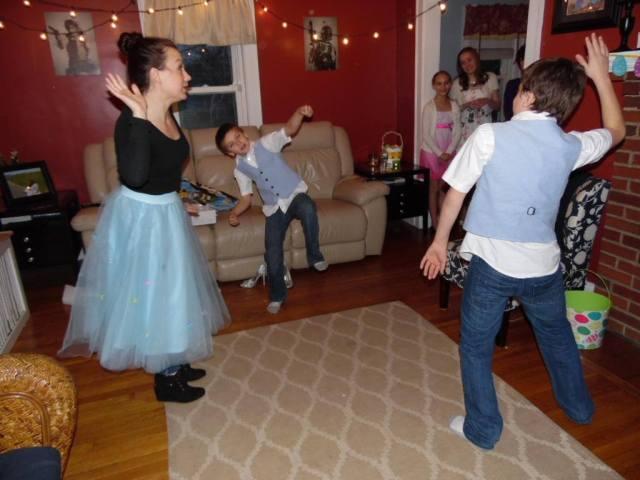 serious dancing
