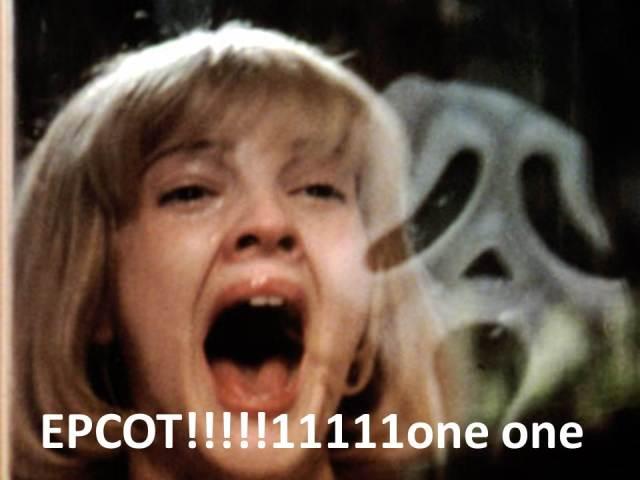 scream EPCOT