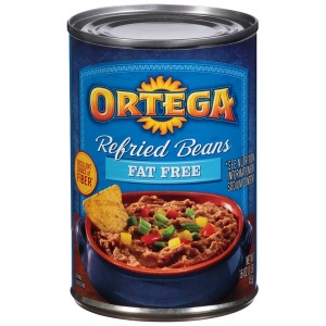 ORTEGA FAT FREE REFRIED BEANS
