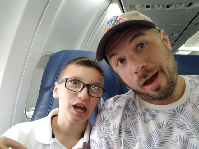 DADDY AND OWEN PLANE