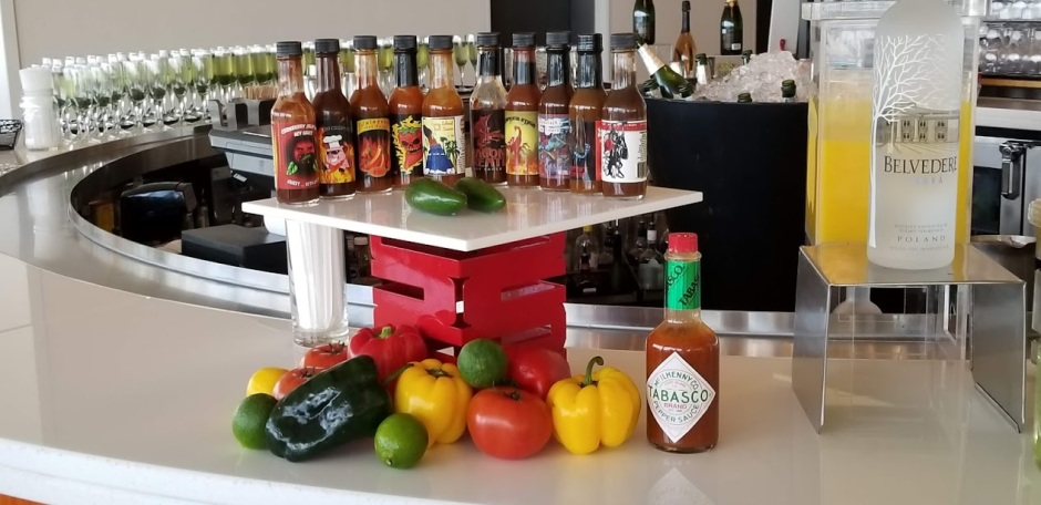 HOT SAUCES DAY 10 2018