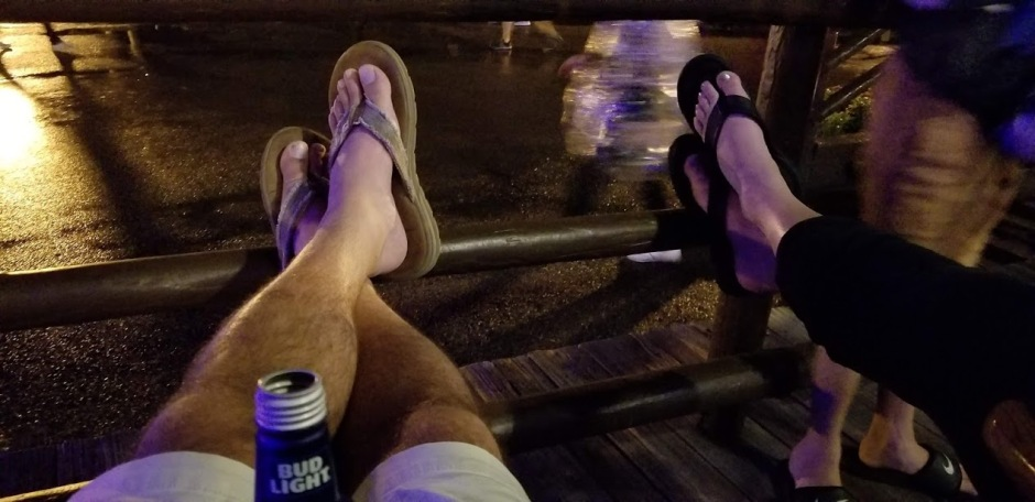 porch feet day 11 2018