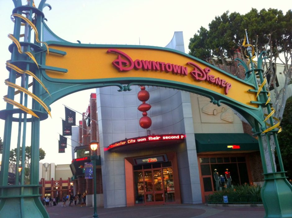 DOWNTOWN DISNEY DAY 11 CA TRIP PRE TRIP