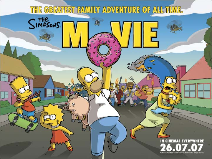 SIMPSONS MOVIE POSTER DAY 14 CA TRIP PRE TRIP.jpg