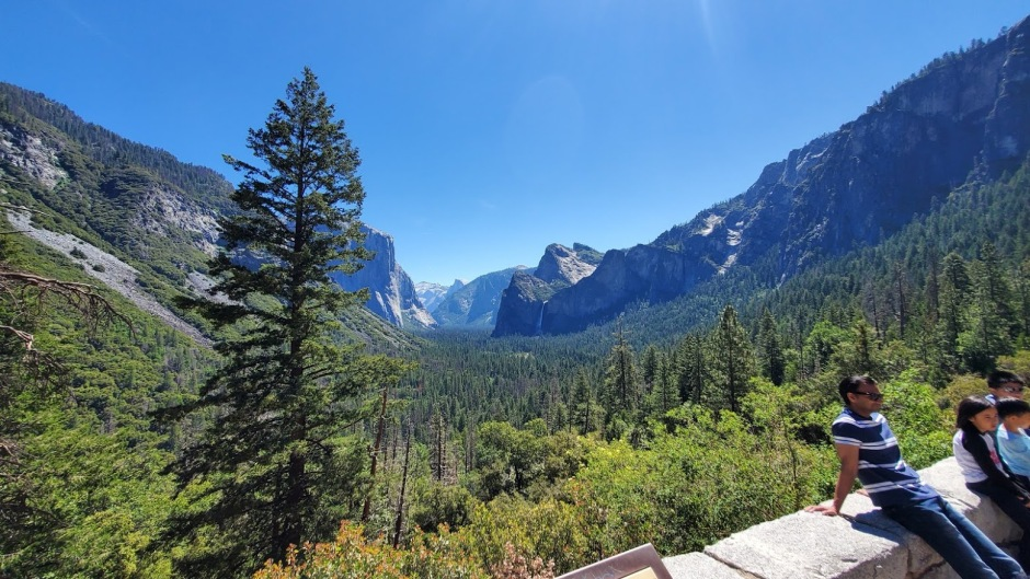 TUNNEL VIEW 1 DAY 6 CA 2019