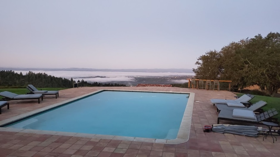 MORNING POOL 1 NAPA TRIP 2019 DAY 2